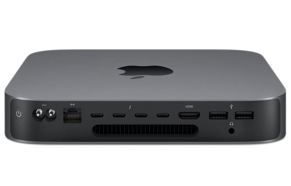 Mac mini - 3,0‑GHz 6‑core Intel Core i5-processor - 8 GB geheugen - 500 GB SSD (Nieuw)