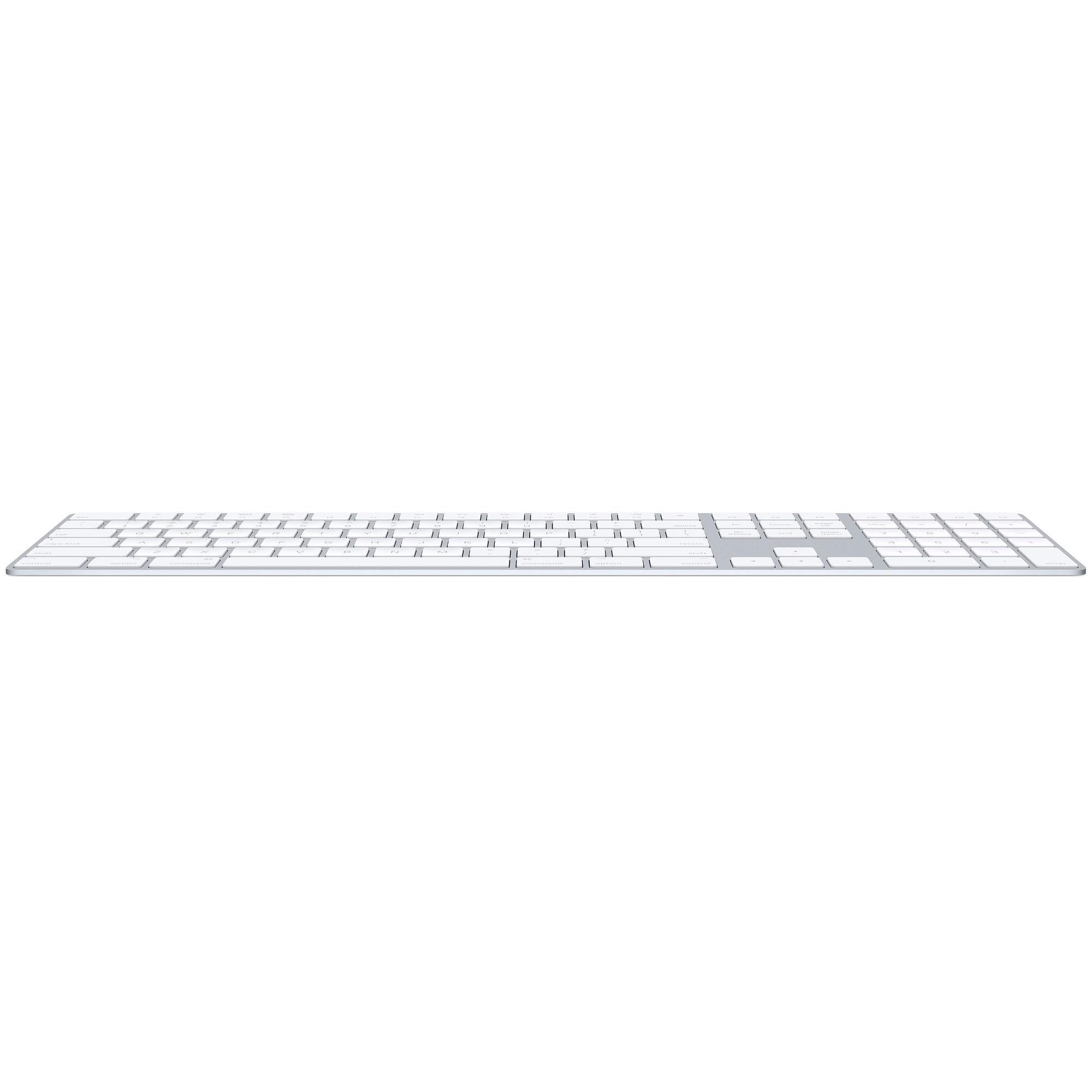 Apple Magic Keyboard met numeriek toetsenblok - USA - Zilver (★★★★★)