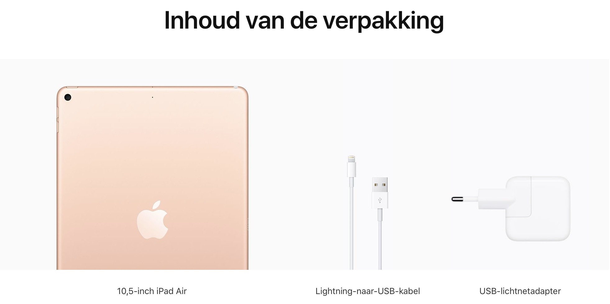 iPad (10.2-inch) (8th generation) - 128 GB - (Wi-Fi) - Goud (Nieuw)