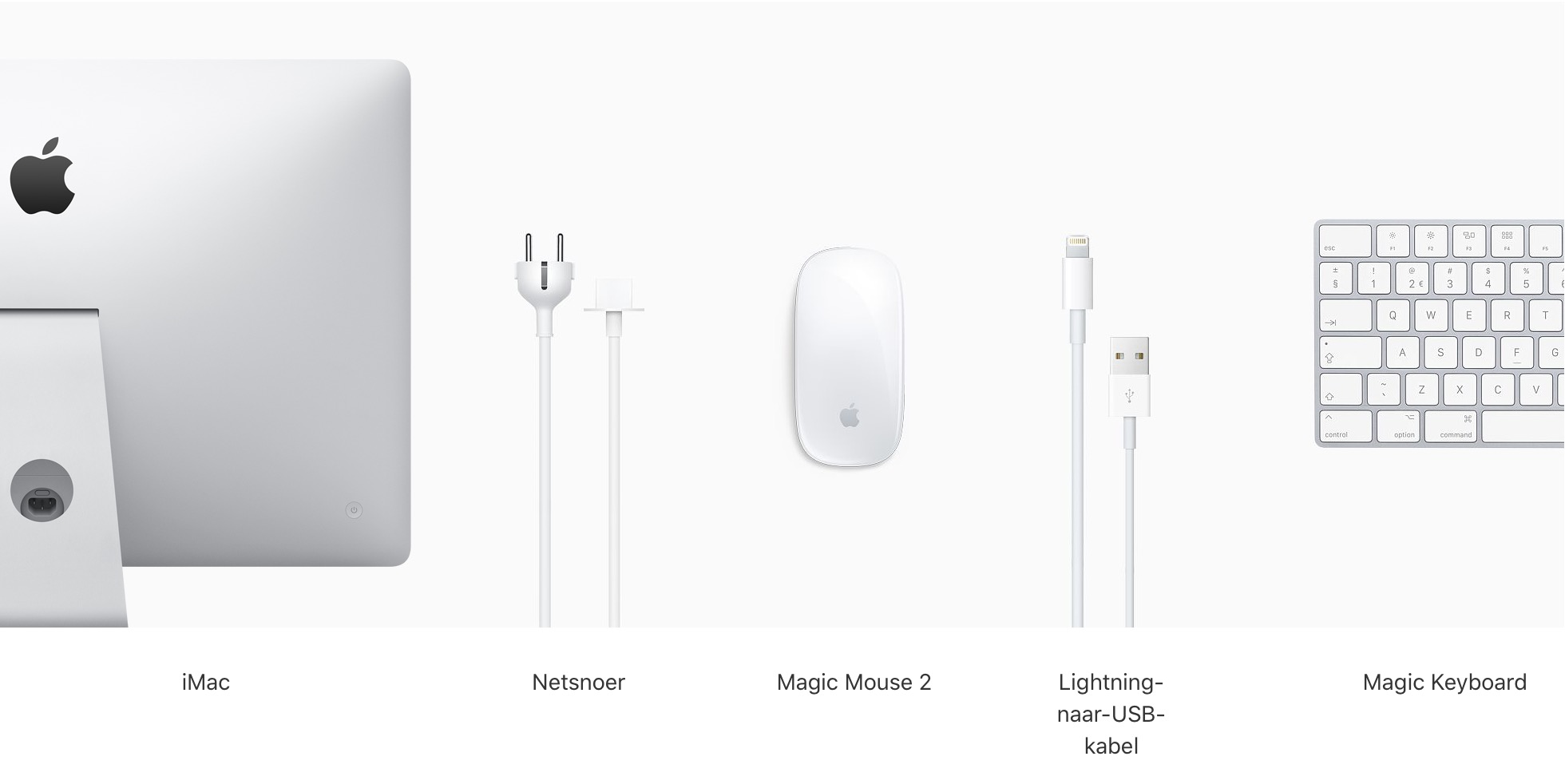 27-inch iMac met Retina 5K-display: 3,3‑GHz 6‑core i5-processor – 512 GB SSD (Nieuw)