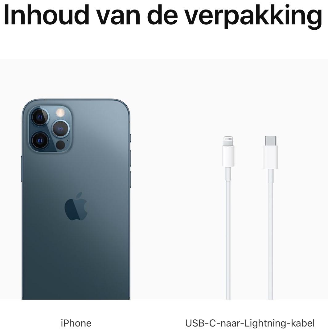 iPhone 12 Pro Max: 256 GB - Oceaanblauw (Nieuw)