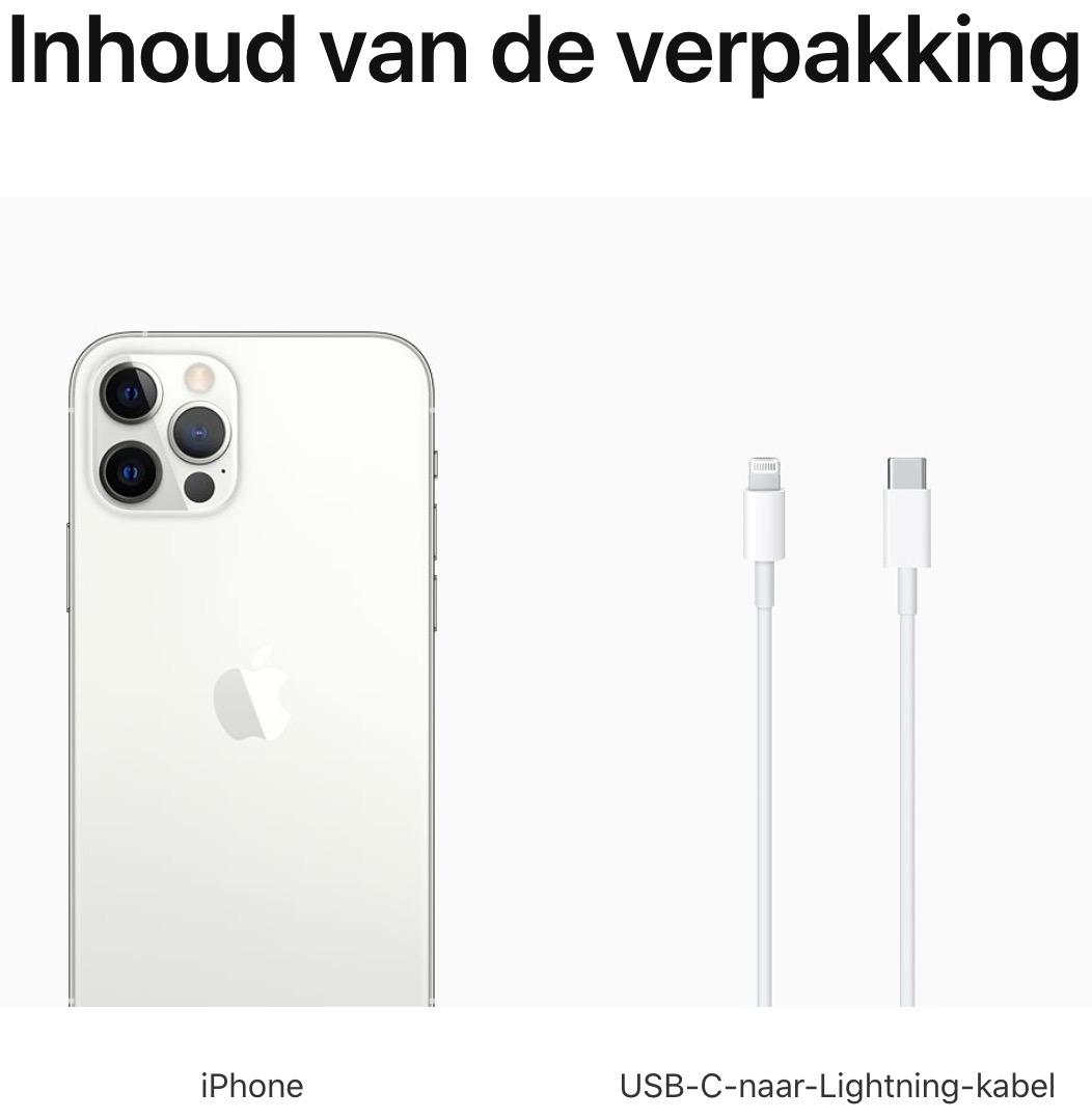 iPhone 12 Pro: 128 GB - Zilver (Nieuw)