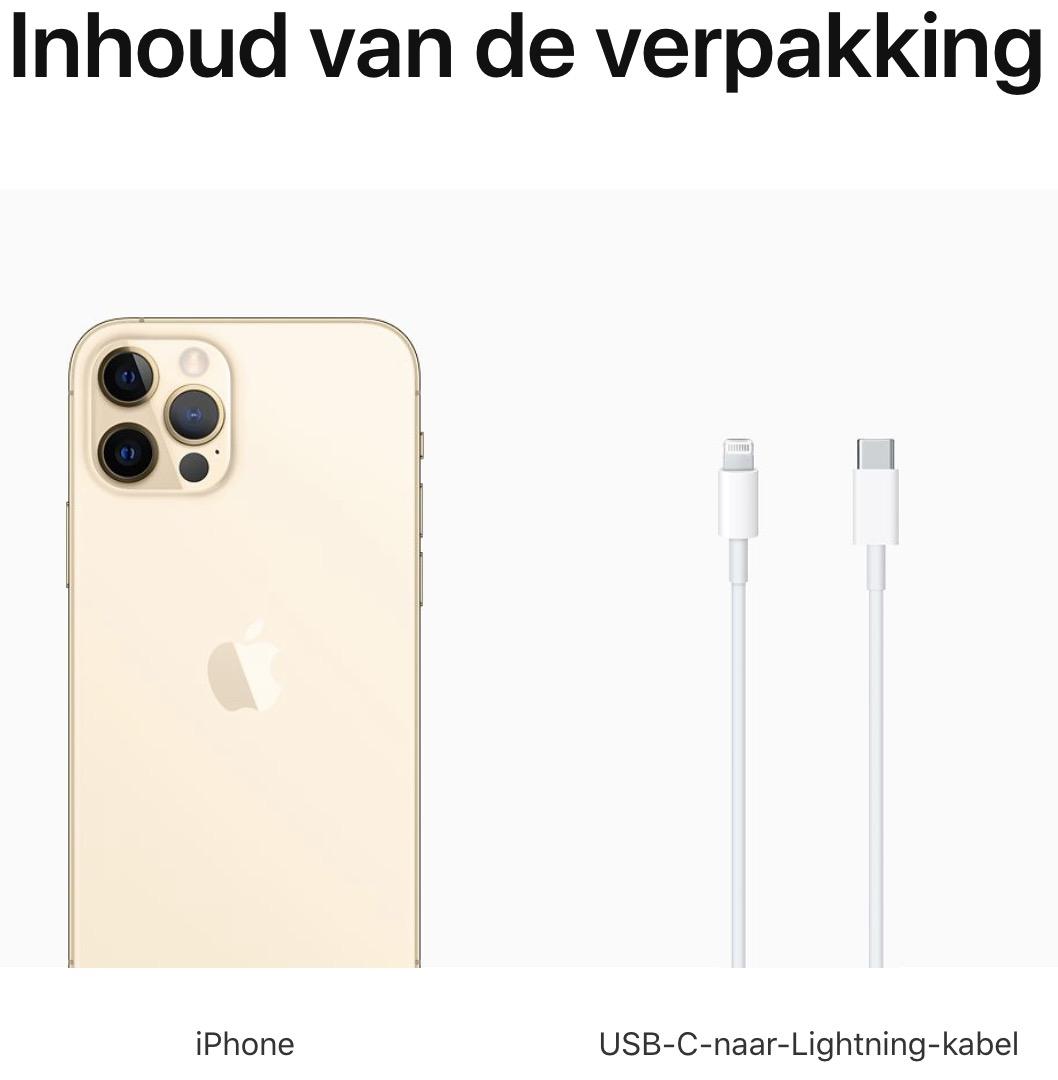 iPhone 12 Pro: 256 GB - Goud (Nieuw)