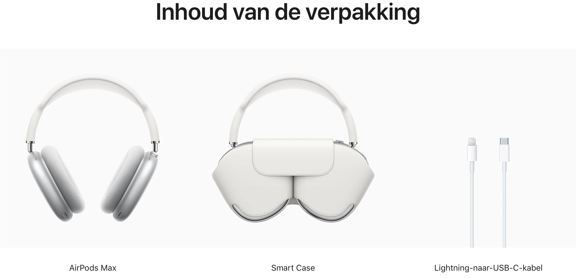 AirPods Max (Zilver)