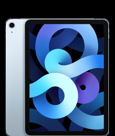 iPad Air (10.9-inch) (4th generation) - 256 GB - (Wi-Fi + Cellular) - Hemelsblauw (Nieuw)