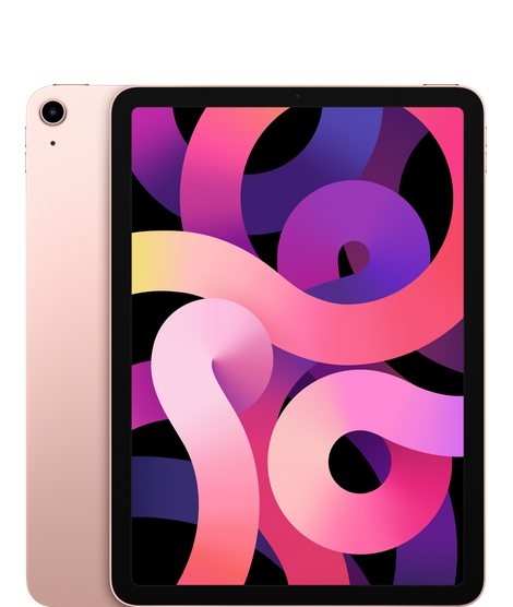 iPad Air (10.9-inch) (4th generation) - 256 GB - (Wi-Fi + Cellular) - Roségoud (Nieuw)