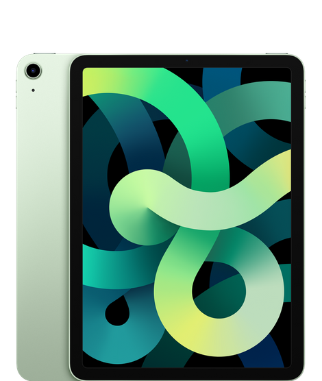 iPad Air (10.9-inch) (4th generation) - 64 GB - (Wi-Fi + Cellular) - Groen (Nieuw)
