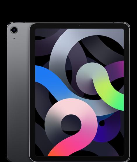iPad Air (10.9-inch) (4th generation) - 64 GB - (Wi-Fi + Cellular) - Spacegrijs (Nieuw)