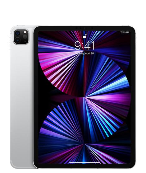 11‑inch iPadPro, Wi‑Fi, 1TB, zilver (Nieuw)
