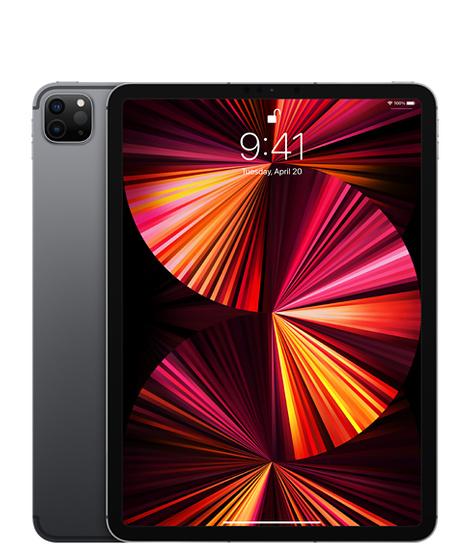 11‑inch iPadPro, Wi‑Fi+Cellular, 128GB, spacegrijs (Nieuw)