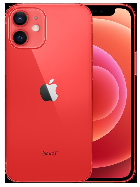 iPhone 12 mini: 128 GB - PRODUCT(RED) (Nieuw)
