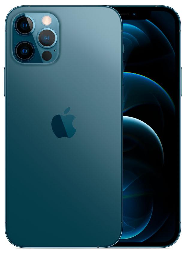 iPhone 12 Pro: 128 GB - Oceaanblauw (Nieuw)