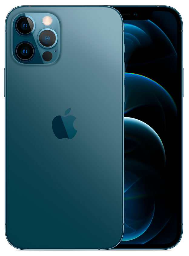 iPhone 12 Pro Max: 512 GB - Oceaanblauw (Nieuw)
