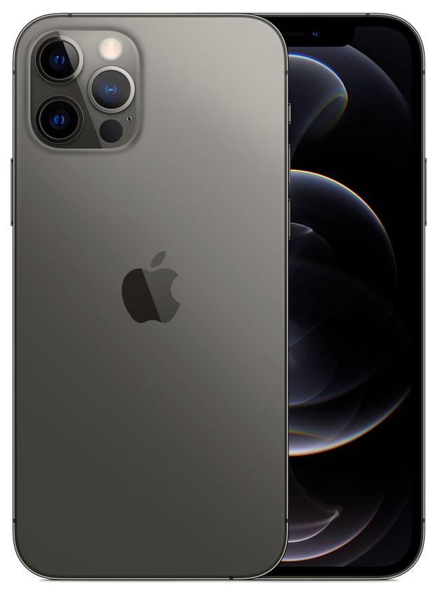 iPhone 12 Pro: 128 GB - Grafiet (Nieuw)