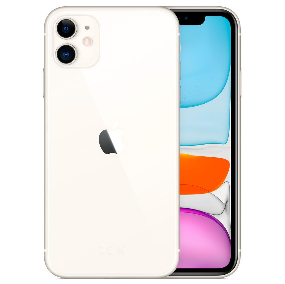 iPhone 11 - 128 GB - Wit (Nieuw)