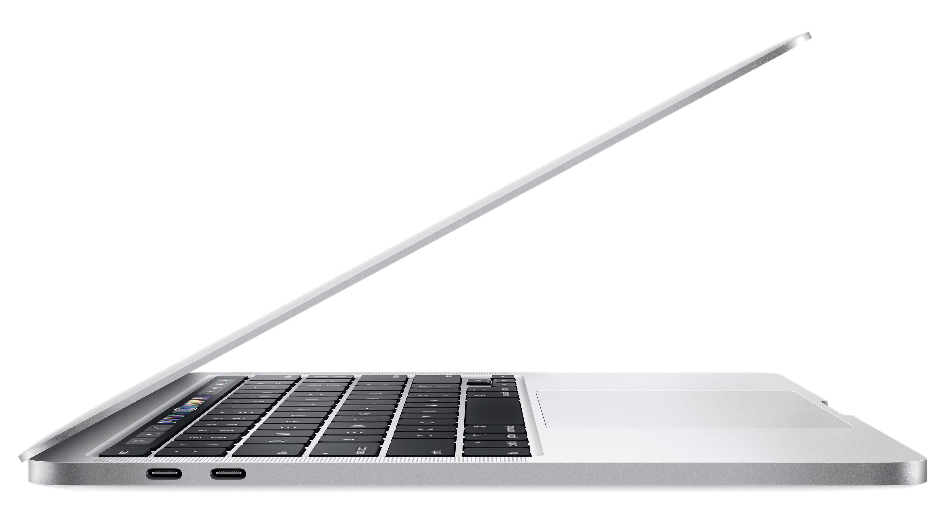 13‑inch MacBook Pro (2020) - Zilver - Intel 2,0‑GHz quad‑coreprocessor - 16 GB RAM - 1 TB SSD - Vier (USB‑C) Thunderbo...