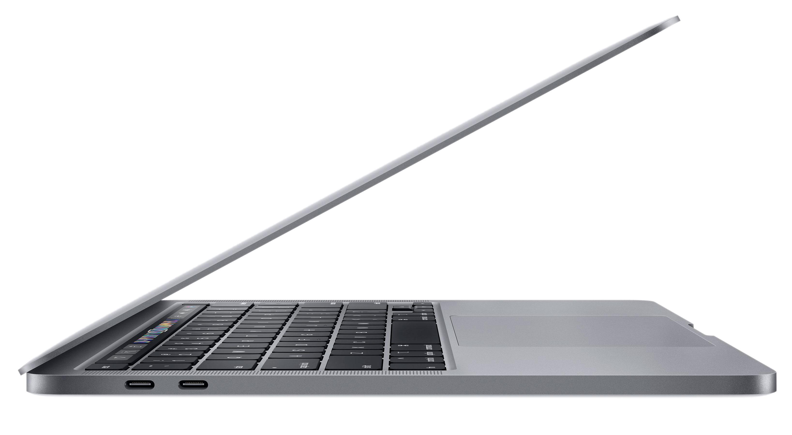 13‑inch MacBook Pro (2020) - Spacegrijs - Intel 2,0‑GHz quad‑coreprocessor - 16 GB RAM - 1 TB SSD - Vier (USB‑C) Thund...
