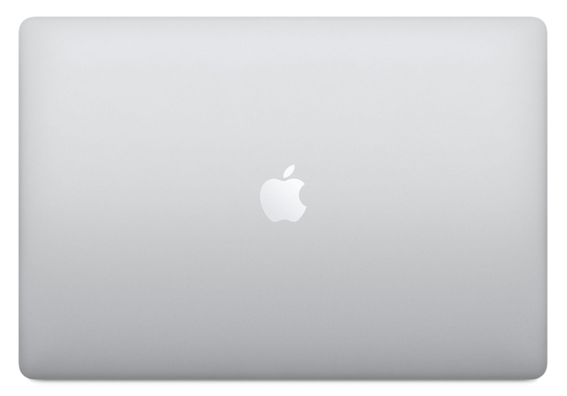 16-inch MacBook Pro: 2,6‑GHz 6‑core i7 processor - 512 GB SSD - 16 GB RAM - AMD Radeon Pro 5300M - Zilver (Nieuw)